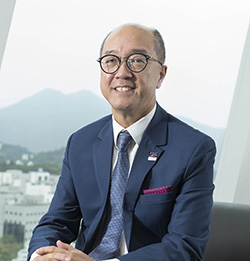 President Tony F Chan of HKUST