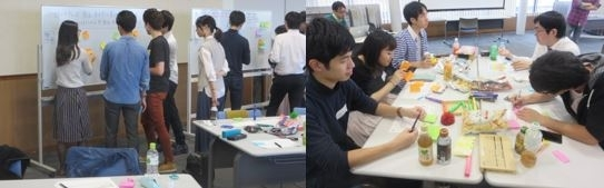 """Design Thinking 1-day Workshop"" co-organized by Tokyo Tech and Hitotsubashi Univ."