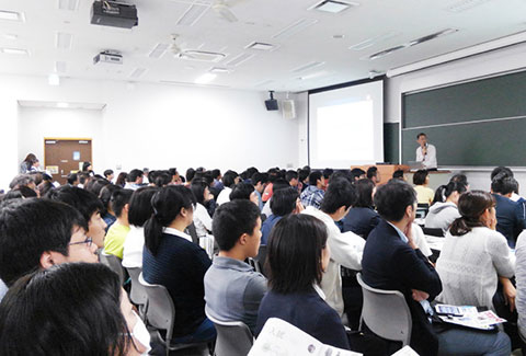 Information session for the School of Life Science and Technology