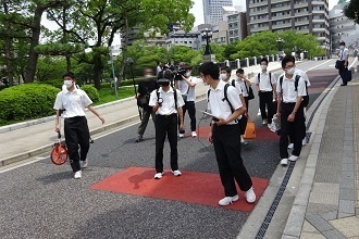 Ground Zero VR Video Project. Hiroshima Prefectural, Fukuyama Technical High School