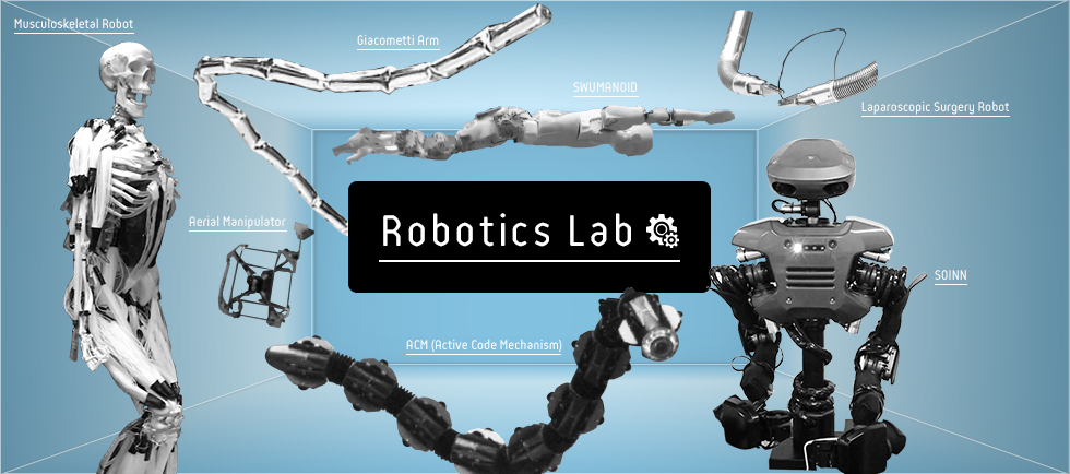 Meet Tokyo Tech's robots - surgery, surveillance, and synthetic muscles -