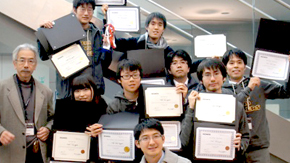 Tokyo Tech students take third place at BIOMOD competition