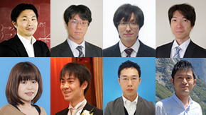 Eight Tokyo Tech faculty members receive 2016 MEXT Young Scientists' Prize