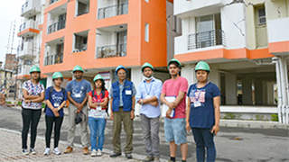 Field survey by Tokyo Tech team after the April 25, 2015 Nepal earthquake