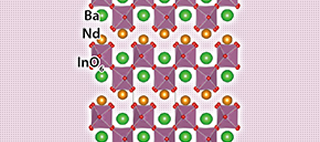 Discovery of a new crystal structure family of oxide-ion conductors: NdBaInO4