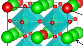 Discovery of a Perovskite-type oxide superconductor with a new ordered structure
