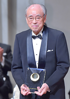 Honorary Professor Yasuharu Suematsu Photo courtesy of the Japan Prize Foundation