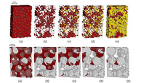 Microtomography of multiphase flows in porous media