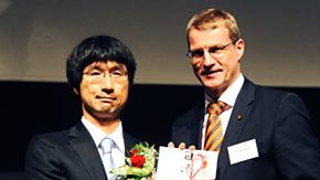 The Gottfried Wagener Prize honors Associate Professor Yukio Kawano