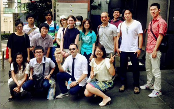KMUTT and Tokyo Tech students and faculties meeting in Tokyo, July 2014