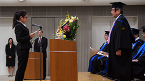 2014 Fall Entrance Ceremony for Graduate Students