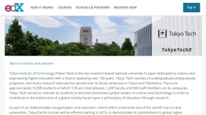 Tokyo Institute of Technology Joins edX MOOCs Consortium founded by MIT and Harvard University