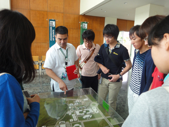 Visiting the Science and Technology Complex and De La Salle University Integrated School