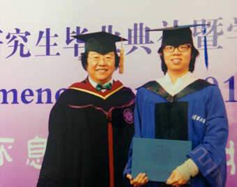 Hayashida and Professor Han Jingyang, THU's Vice Chairperson of the University Council