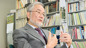 Honorary Professor Yoshinori Ohsumi awarded 2015 International Prize for Biology