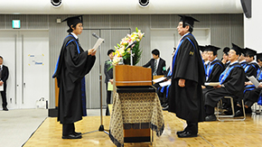 We will contribute to a brighter future, vows valedictorian - Fall Graduation Ceremony 2015
