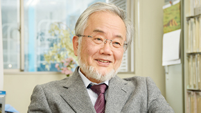 Honorary Professor Yoshinori Ohsumi receives the 20th Keio Medical Science Prize