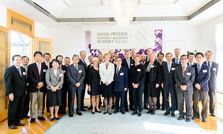 Japan-Sweden University Presidents' Summit