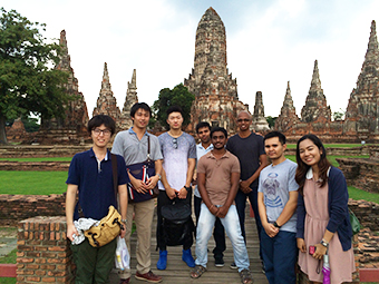 Study tour to the ancient city of Ayutthaya