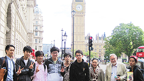 TiROP Short Visit Program 2015: Tokyo Tech students experience UK university life
