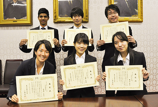 2015 Tokyo Tech Award for Student Leadership recipients