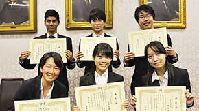 2015 Tokyo Tech Award for Student Leadership
