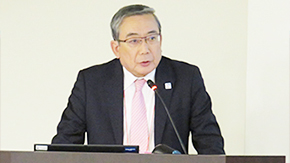 President Mishima attends the 9th Forum for Japanese and Chinese University Presidents