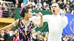 Okuno and Shiraishi win All Japan Collegiate DanceSport Championships