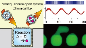 Microdroplet reactors mimic living systems