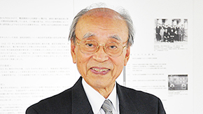 Honorary Professor and Former President Yasuharu Suematsu awarded 2015 Order of Culture