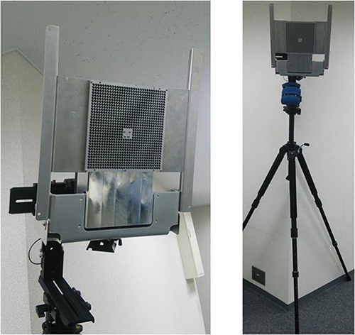 Photographs of the 60 GHz GATE wireless system