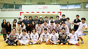 Tokyo Tech secures historic promotion to 1st Division of FFC College Futsal League
