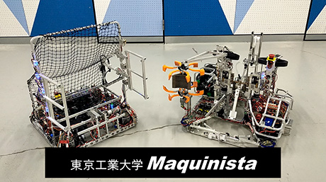 Team Maquinista scores tries at NHK student robot online festival