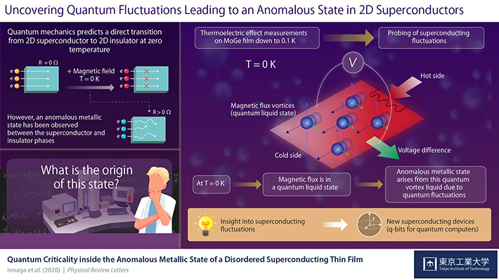 Uncovering Quantum Fluctuations Leading to an Anomalous State in 2D Superconductors