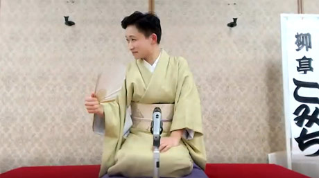 Audience enjoys rakugo as Ripro hosts 15th special lecture