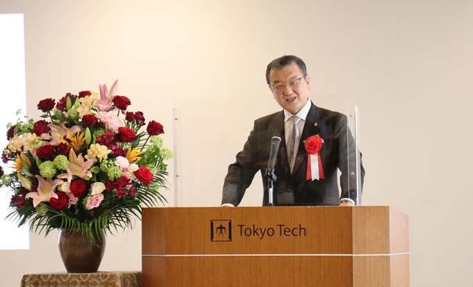 Greeting from Tokyo Tech Alumni Association President Ido