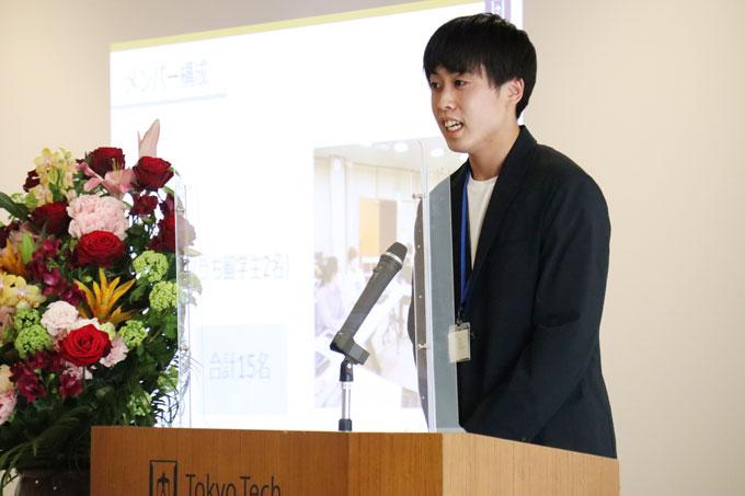Events crew leader Shota Matsuo