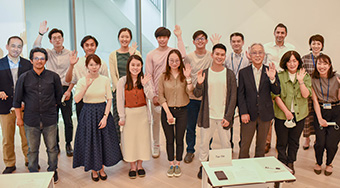 Student Ambassadors with Tokyo Tech staff
