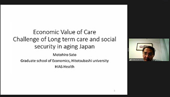 Sato's lecture on long-term care and social security in Japan
