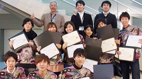 Tokyo Tech Students Win Three Awards at BIOMOD