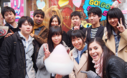 Harajuku adventure with international students