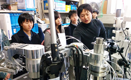 Suzukakedai Campus lab tour
