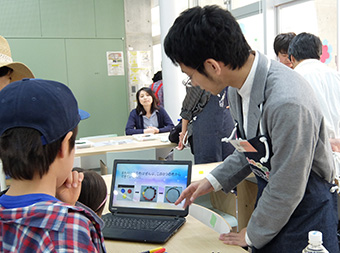 Workshop for youngsters by Tokyo Tech Science Techno
