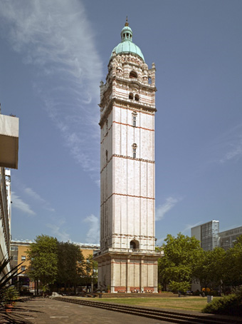The Queen's Tower, built to mark Queen Victoria's Golden Jubilee in 1887, stands at the centre of Imperial College London's South Kensington Campus Copyright Imperial College London / Christian Richters