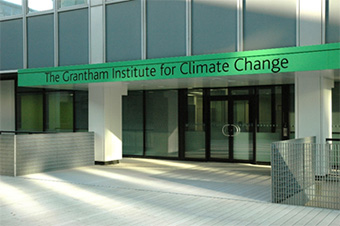 The Grantham Institute for Climate Change on Imperial College London's South Kensington Campus Copyright Imperial College London / Tom Johnson