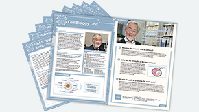 Pursuing the cutting edge: leaflets on research units now available online