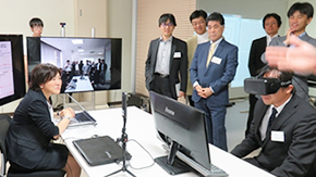 Tokyo Tech Center of Innovation visited