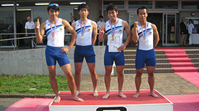 Rowing Club third in 66th East Japan Tournament