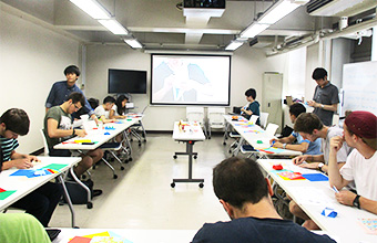 Paper folding (origami) demonstration and practice with the Tokyo Tech Origami Club