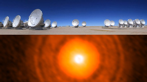 ALMA Spots Possible Formation Site of Icy Giant Planet